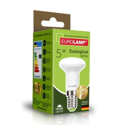 Светодиодная лампа Eurolamp R39 5W Е14 3000K (LED-R39-05142(P))