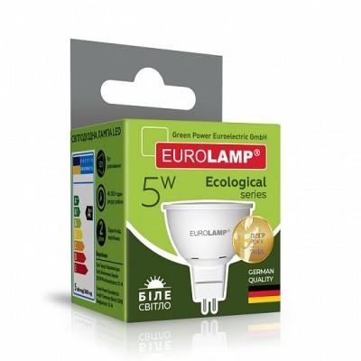 Светодиодная лампа Eurolamp SMD MR16 5W GU5.3 4000K (LED-SMD-05534(P))