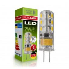 Светодиодная капсульная EUROLAMP LED Лампа G4 силикон 2W 4000K 220V