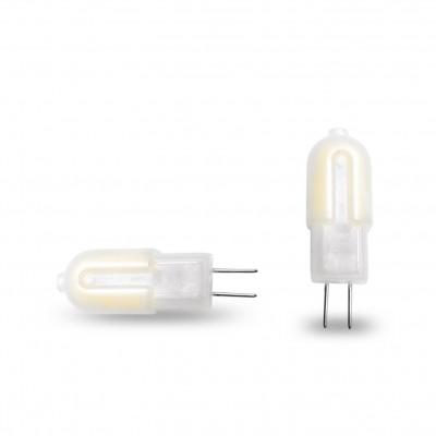 Светодиодная капсульная лампа Eurolamp G4 пластик 2W 3000K 12V (LED-G4-0227(12)P)