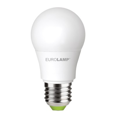 Светодиодная лампа Eurolamp A50 7W Е27 4000K (LED-A50-07274(P))