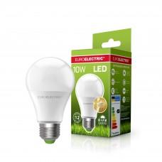 Классическая светодиодная EUROELECTRIC LED Лампа А60 10W E27 4000K