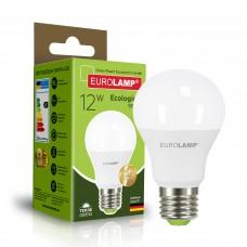 Светодиодная лампа Eurolamp A60 12W Е27 3000K (LED-A60-12273(P))