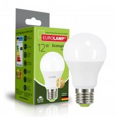 Светодиодная лампа Eurolamp A60 12W Е27 4000K (LED-A60-12274(P))