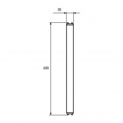 Светодиодная лампа Eurolamp 9W Т8 4100K Стекло (LED-T8-9W/4100(скло))