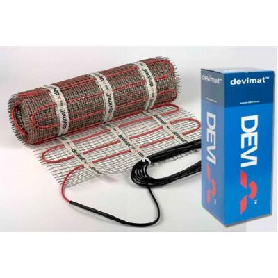 8 м нагревательный мат двухжильный экранированный DeviComfort DTIR-100 83 030 522