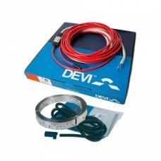 """74 м набор """"Теплый пол"""" с нагревательным двухжильным кабелем DEVIflex 18T (DTIP-18) 140F1314"""