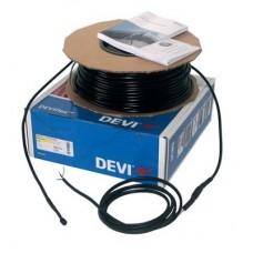 104 м нагревательный двухжильный кабель для крыш, желобов и водостоков DEVIsafe 20T на 400 В~