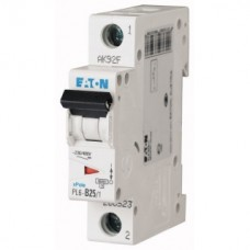 Автоматический выключатель (PL6-B25/1) 1Р 25А тип В арт. 286523