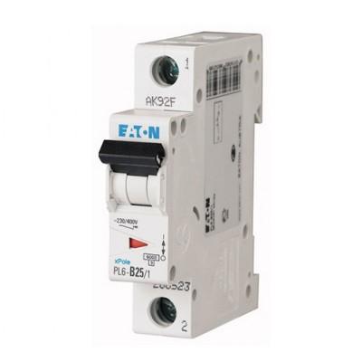 Автоматический выключатель (PL6-B40/1) 1Р 40А тип В арт. 286525