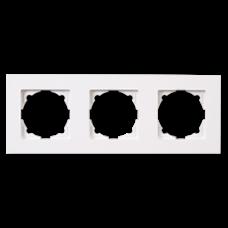 Рамка тройная Gunsan Eqona белый