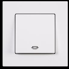 Кнопка контр. освещения Gunsan Eqona белый