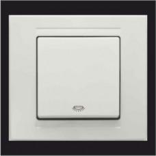Кнопка контроля освещения Gunsan Moderna белый