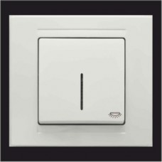 Кнопка контроля освещения с подсветкой Gunsan Moderna белый