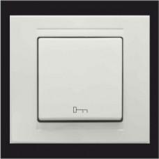 Кнопка управления дверным замком Gunsan Moderna белый
