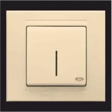 Кнопка контроля освещения с подсветкой Gunsan Moderna кремовый