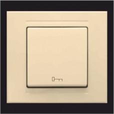 Кнопка управления дверным замком Gunsan Moderna кремовый