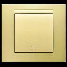 Кнопка управления дверным замком Gunsan Moderna золото
