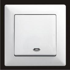 Кнопка контроля освещения Gunsan Visage белый VS 28 11 105