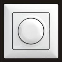 Светорегулятор 1000W с подсветкой Gunsan Visage белый VS 28 11 127