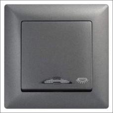 Кнопка контроля освещения с подсветкой Gunsan Visage черный