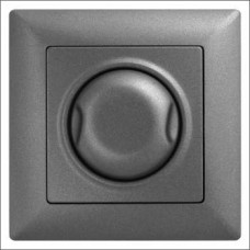Светорегулятор 600Вт с подсветкой Gunsan Visage черный