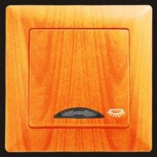 Кнопка контроля освещения с подсветкой Gunsan Visage клен
