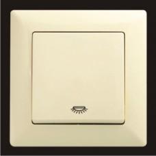 Кнопка контроля освещения Gunsan Visage кремовый VS 28 12 105