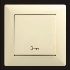 Кнопка управления дверным замком Gunsan Visage кремовый VS 28 12 110