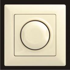 Светорегулятор 1000W с подсветкой Gunsan Visage кремовый VS 28 12 127