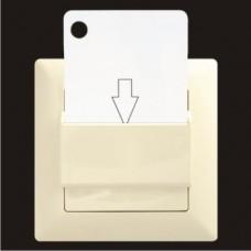 Выключатель энергосберегающий Gunsan Visage кремовый VS 28 12 157