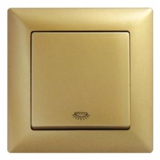 Кнопка контроля освещения Gunsan Visage золото