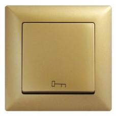 Кнопка управления дверным замком Gunsan Visage золото