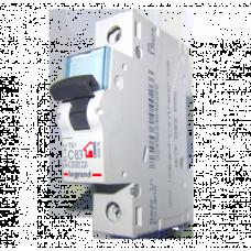 Автоматический выключатель однополюсный Legrand TX3 63A 1Р 6кА тип «C»