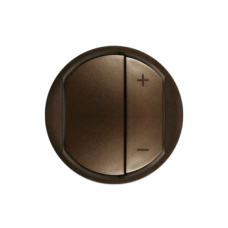 Накладка светорегулятора кнопочного Legrand Celiane 64950 графит