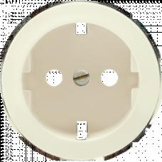 Накладка розетки с заземлением Legrand Celiane 66252 титан