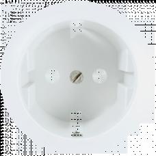 Накладка розетки с заземлением Legrand Celiane 68130 белая