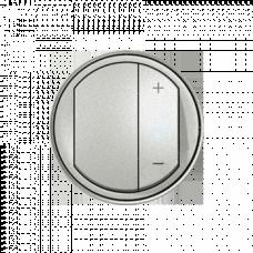 Накладка светорегулятора кнопочного Legrand Celiane 68331 титан