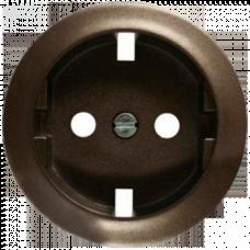 Накладка розетки с заземлением (винтом) Legrand Celiane 64952 графит