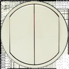 Клавиша выключателя 2-х клавишного Legrand Celiane 66201 слоновая кость