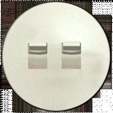Лицевая панель выключателя двойного рычажкового Celiane 66205 слоновая кость