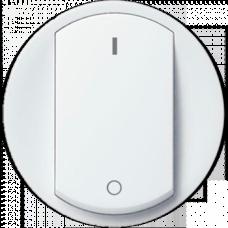 Накладка двухполюсного выключателя Legrand Celiane 68021 белая