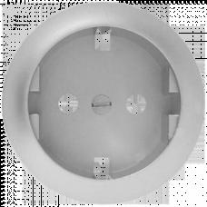 Накладка розетки с заземлением (винтом) Legrand Celiane 68430 титан