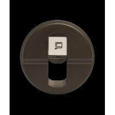 Лицевая панель розетки RJ-45 64935 графит