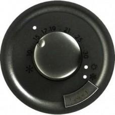Лицевая панель терморегулятора теплого пола 64998 графит