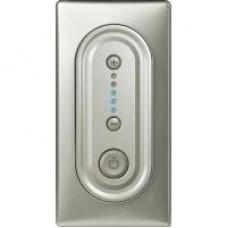 Накладка светорегулятора кнопочного 1000 Вт Legrand Celiane 68333 титан