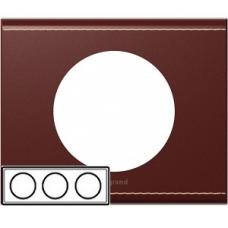 Рамка тройная Legrand Celiane 69293 кожа классик