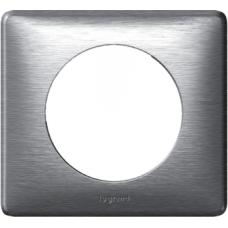 Рамка одинарная Legrand Celiane 68921 алюминий