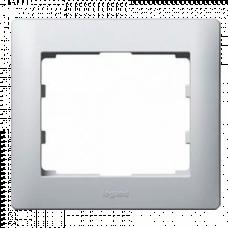 Рамка 1-я Galea Life 771301 алюминий