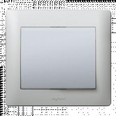 Клавиша для 1-клавишного выключателя 771310 алюминий